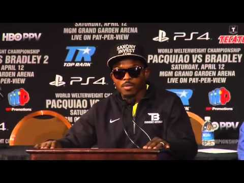 TIM BRADLEY POST FIGHT INTERVIEW AFTER HIS LOSS TO TIMOTHY BRADLEY