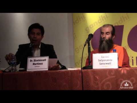 Svami Satyananda Sarasvati ha presentat 'El hinduismo' a Mèxic DF