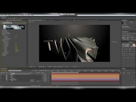 After Effects Tutoriales _ Shapeshifter_( Como Crear Textos 3D Avanzados)