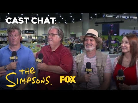 The Simpsons Producers At Comic-Con 2018 | THE SIMPSONS