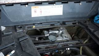 6. April 24th ENGINE SERVICE POLARIS RZR 570