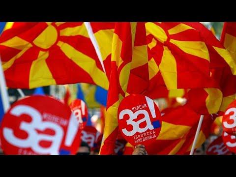 Στα Σκόπια η Γερμανίδα υπουργός Άμυνας – Στο επίκεντρο το ΝΑΤΟ…