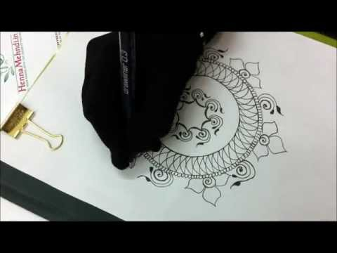 0 How to Make a Mandala [Henna Video]
