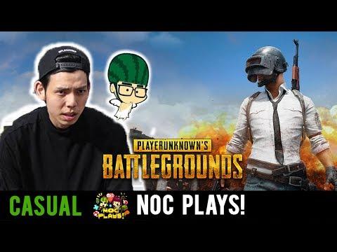 NOC Plays PLAYERUNKNOWN's BATTLEGROUNDS ft. Watermelon King (видео)
