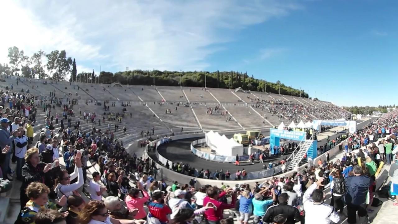Αυθεντικός Μαραθώνιος της Αθήνας: Τερματισμός σε κάμερα 360