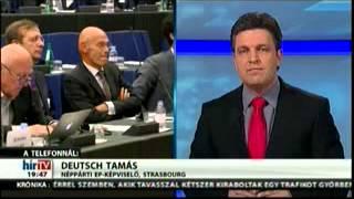 Deutsch Tamás a HírTV-ben