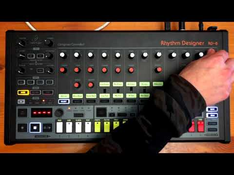 Behringer RD8 Bass Trick ( With Logic X )