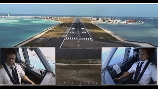 Video Airbus A330 - Approach and Landing in Malé, Maldives (ENG sub) MP3, 3GP, MP4, WEBM, AVI, FLV Desember 2018