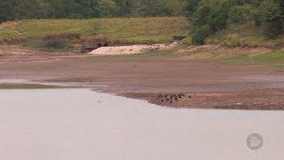 Marília: estiagem reduz nível da represa Cascata e DAEM interrompe captação de água