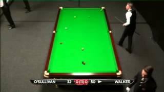 Ronnie O'Sullivan - Joel Walker (Frame 1) Snooker International Championship Q 2013 - Round 1