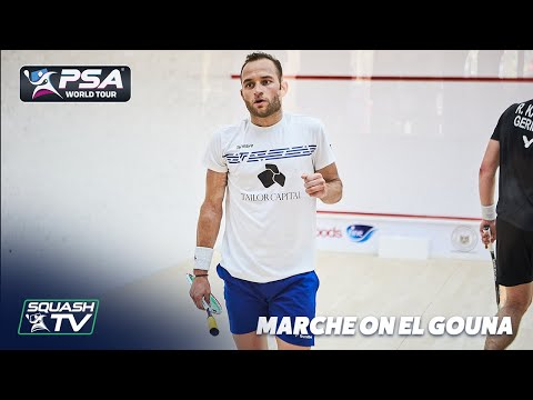 Squash: Grégoire Marche on his impressive El Gouna performance
