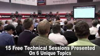 ESC Silicon Valley 2011 Microchip Booth Highlights