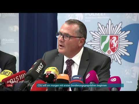 Pressekonferenz der Kölner Polizei zur Geiselnahme im ...