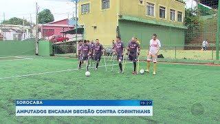 Sorocaba: amputados formam time de futebol e disputam paulista da categoria