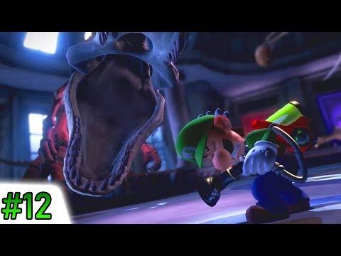 Luigi's Mansion 3 Walkthrough 100% - #12 9F Unnatural History Museum