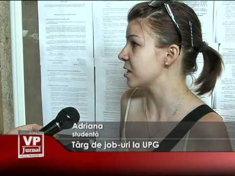 Târg de job-uri la UPG