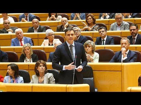 Pedro Sánchez defiende