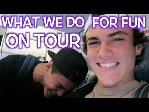 What We Do For Fun On Tour // Dolan Twins