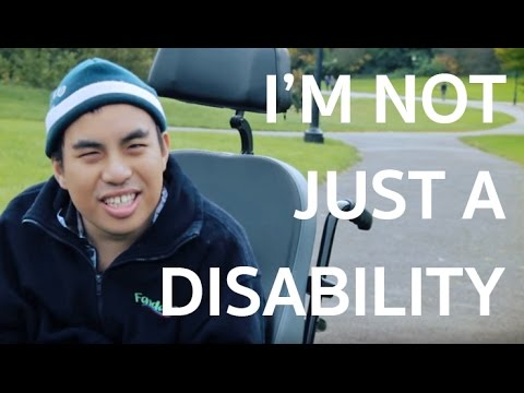 Kiatipat Tongyotha is concerned that people underestimate his ability to think for himself and make decisions because of his cerebral palsy.