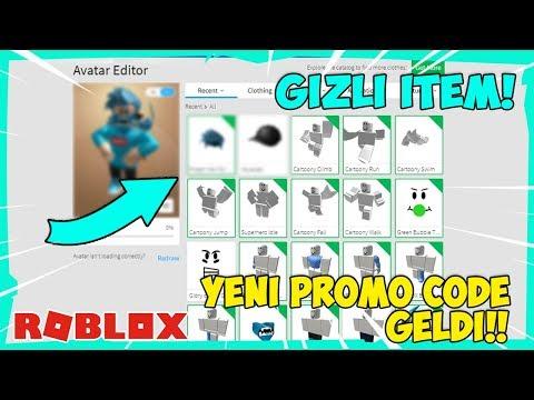 YENİ GİZEMLİ ROBLOX PROMO CODE GELDİ !! / Roblox Türkçe / FarukTPC