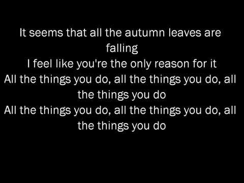 Chris Brown ft Kendrick Lamar - Autumn Leaves (Lyrics)