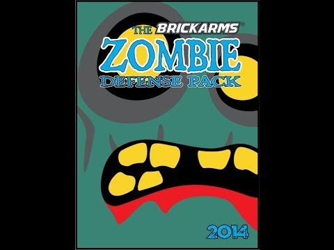 Brickarms Zombie Defense Pack 2014 Review