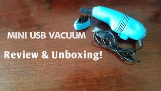 """Today we unbox and review one of the cutest item on our list of things to review! A mini USB Vacuum to make your everyday life more fun! It is used to suck up dust particles on your keyboard or even your desk if you don't want to come in contact with dust! Also, say """"Hi"""" to the new (AI) voice Alex! He will be thoughtfully bringing you through the product review.USB Vacuum Cleaner for Laptop & Desktop available for about $2 on Ebay *Product review is not sponsored by any brands or company. This is just a informative video based on personal experience using and testing out the product featured in this video.Link: http://www.ebay.com.sg/sch/i.html?_from=R40&_sacat=0&_nkw=usb+vacuum&_sop=2© SAMUEL LEWIS"""
