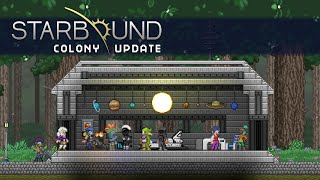 Start a colony, manage your inventory, sell items, and test your skills in challenge rooms in the latest Starbound update!Check here for patch notes: http://playstarbound.com/stable-pleased-giraffe-is-here/http://playstarbound.com/https://twitter.com/starboundgamehttps://www.facebook.com/playstarboundgameStarbound on Steam Early Access: http://store.steampowered.com/app/211820