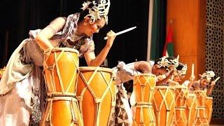 Tari RAMPAK KENDANG JAIPONG - Indonesian Dance - KBRI Abu Dhabi [HD] Video