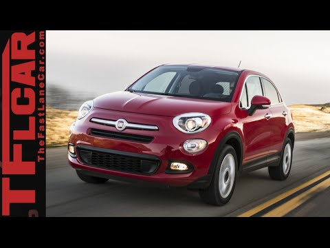 2016 Fiat 500X First Drive Review: An Italian AWD Jeep Renegade?