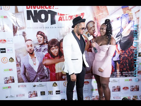 Divorce Not Allowed movie premiere in London with mike ezuruonye
