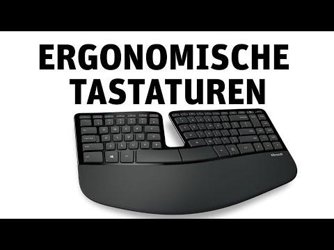 Ergonomische Tastaturen von Microsoft ·Kurzvorstellung