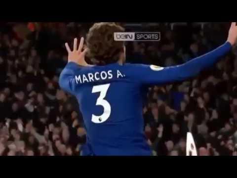 ARS vs CHE Goals (Highlights 03/01/2018