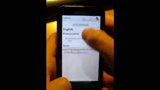 mSPDict, từ điển chuyên nghiệp YouTube video