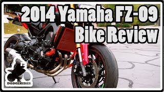 8. 2014 Yamaha FZ 09 - Bike Review