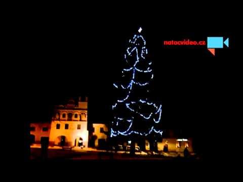 Vánoční strom Volyně