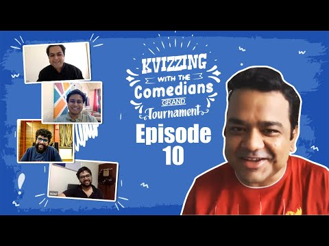 KVizzing With The Comedians 1st Edition || SF2 feat. Aakash, Anirban, Saurav, and Vishal