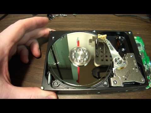 Clicking hard drive dis-assembly. How to and what to expect. 500GIG Western Digital USB storage.