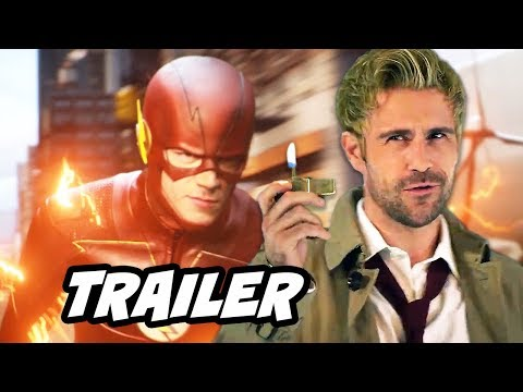 The Flash Season 4 Episode 2 Promo - New Constantine Explained and TOP 10 Q&A