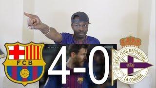 Download Video Barcelona vs Deportivo La Coruna 4-0 All Goals & Highlights: Reaction MP3 3GP MP4
