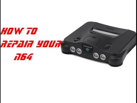 how to troubleshoot a nintendo 64