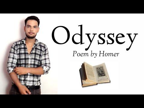 Odyssey : Poem by Homer Trojan War in Hindi summary Explanation
