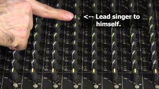 Video How to set up monitor mixes for live sound MP3, 3GP, MP4, WEBM, AVI, FLV Desember 2018
