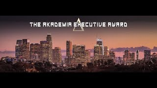 Video Nico-  The Akademia Executive Award 2019