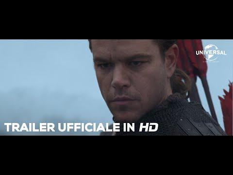 THE GREAT WALL di Zhang Yimou con Matt Damon - Trailer italiano ufficiale