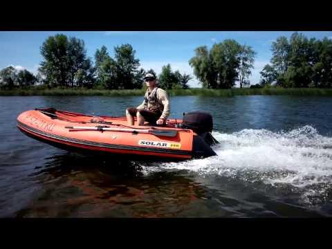 тюнинг лодок солар 350