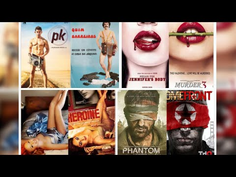 Bollywood Film Posters that are Copied from Hollyw