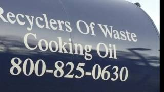 Used Cooking Oil Collection NYC