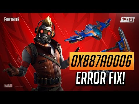 "How To Fix Fortnite Error: 0x887A0006 - ""HUNG""  [Season 9]"