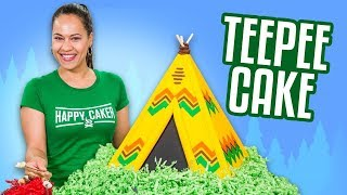 Video TeePee Cake & HUGE ANNOUNCEMENT!!    How To Cake It MP3, 3GP, MP4, WEBM, AVI, FLV Maret 2019